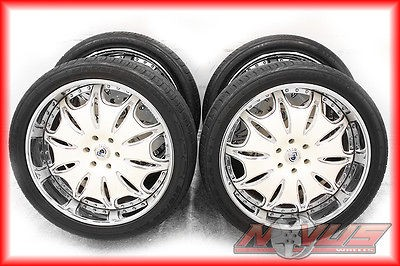 24 ASANTI FORGED CADILLAC ESCALADE CHEVY TAHOE GMC YUKON WHEELS TIRES