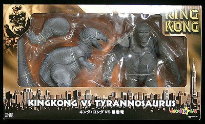 plus king kong vs t rex 1933 vinyl soft figure from hong kong time