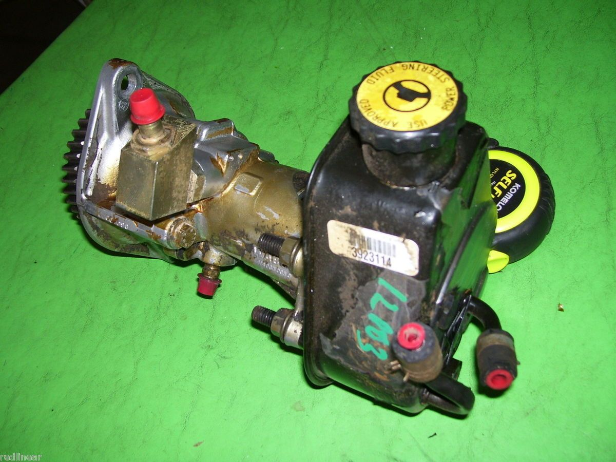 RAM Cummins Turbo Diesel Engine Vacuum Pump Power Steering Assy