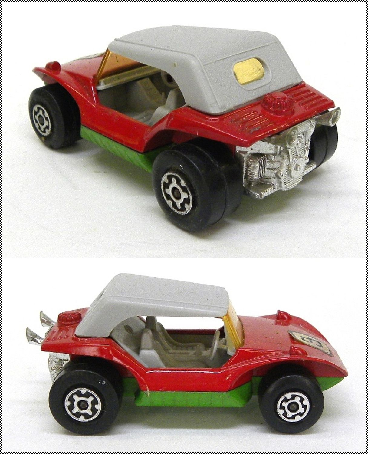 Speed Kings K 37 Sand Cat Dune Buggy by Lesney, 1972 Vintage Die Cast