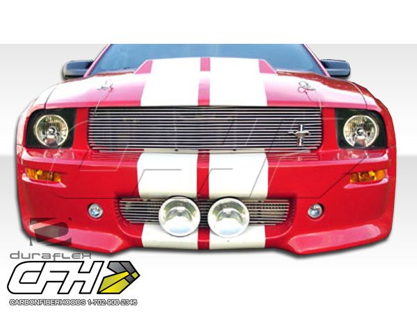 FRP Ford Mustang Eleanor Front BUMPER Kit Auto Body   1 Pc 05 09 Hot