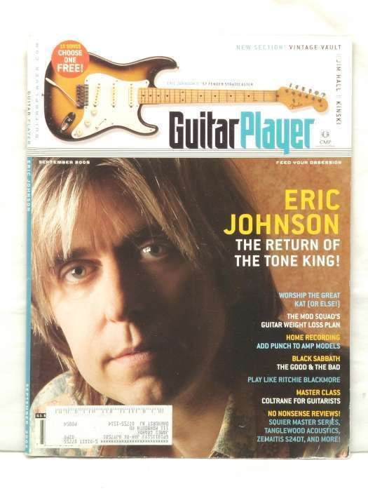 Guitar Player Magazine Eric Johnson Jim Hall Kinski