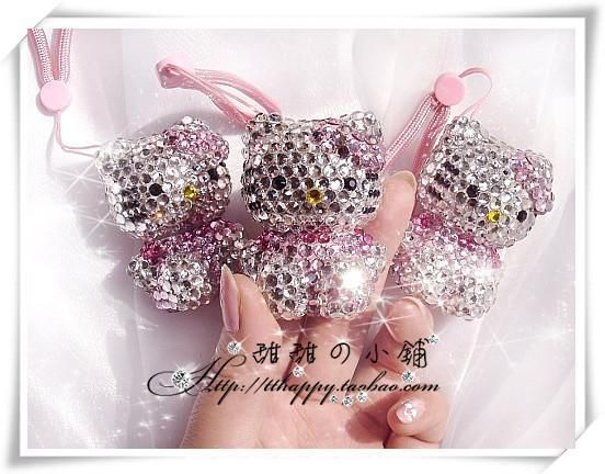Bling Crystal Hello Kitty USB Flash Drive Memory Stick 4GB