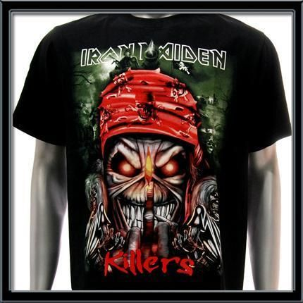 Sz M Iron Maiden T Shirt Rock The Trooper Heavy Metal