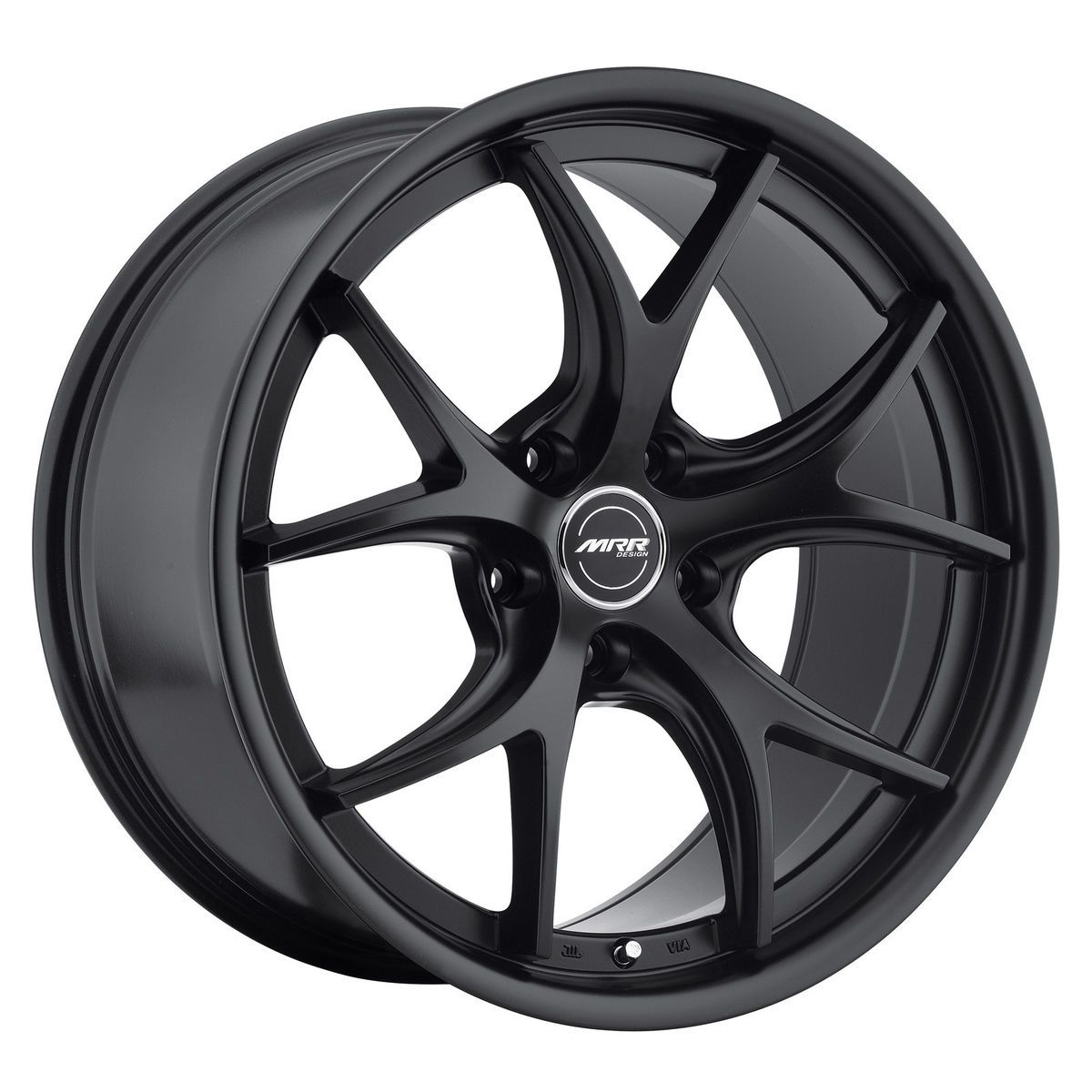 19 MRR GT8 Matte Black Wheels Rims Fit Nissan 350Z 370Z Altima Maxima