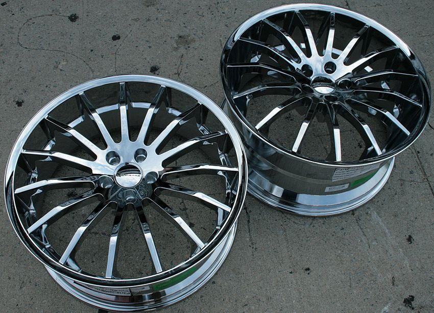 Giovanna Martuni 22 Chrome Rims Wheels E38 7 Series