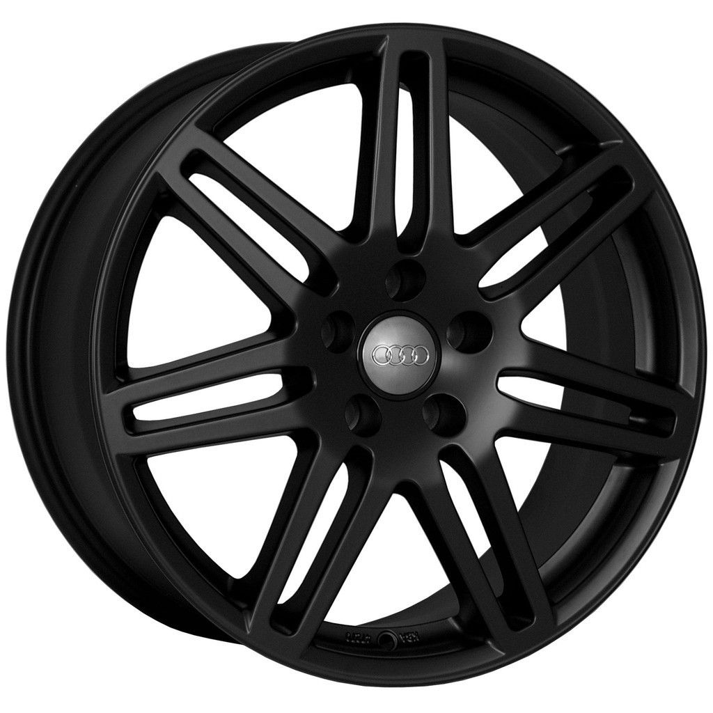 18 RS4 Wheels Rims Matte Black Fit VW Passat B5 B5 5