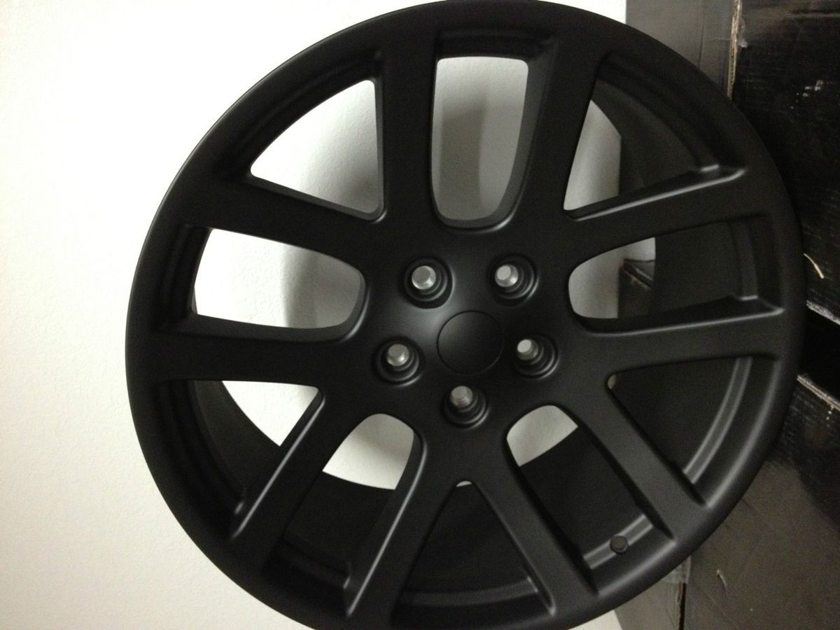 Black Dodge Ram SRT 10 Factory OE Replica Wheels Rims 5x5 5 20 x 9