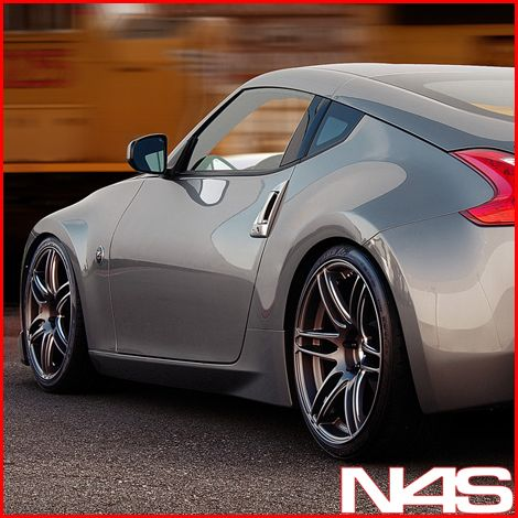 19 Nissan 350Z Avant Garde M368 Concave Staggered Rims Wheels